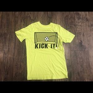 Boys xersion soccer t-shirt